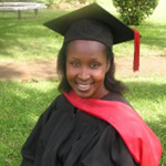 Mary Ogalo Graduated in July 2010