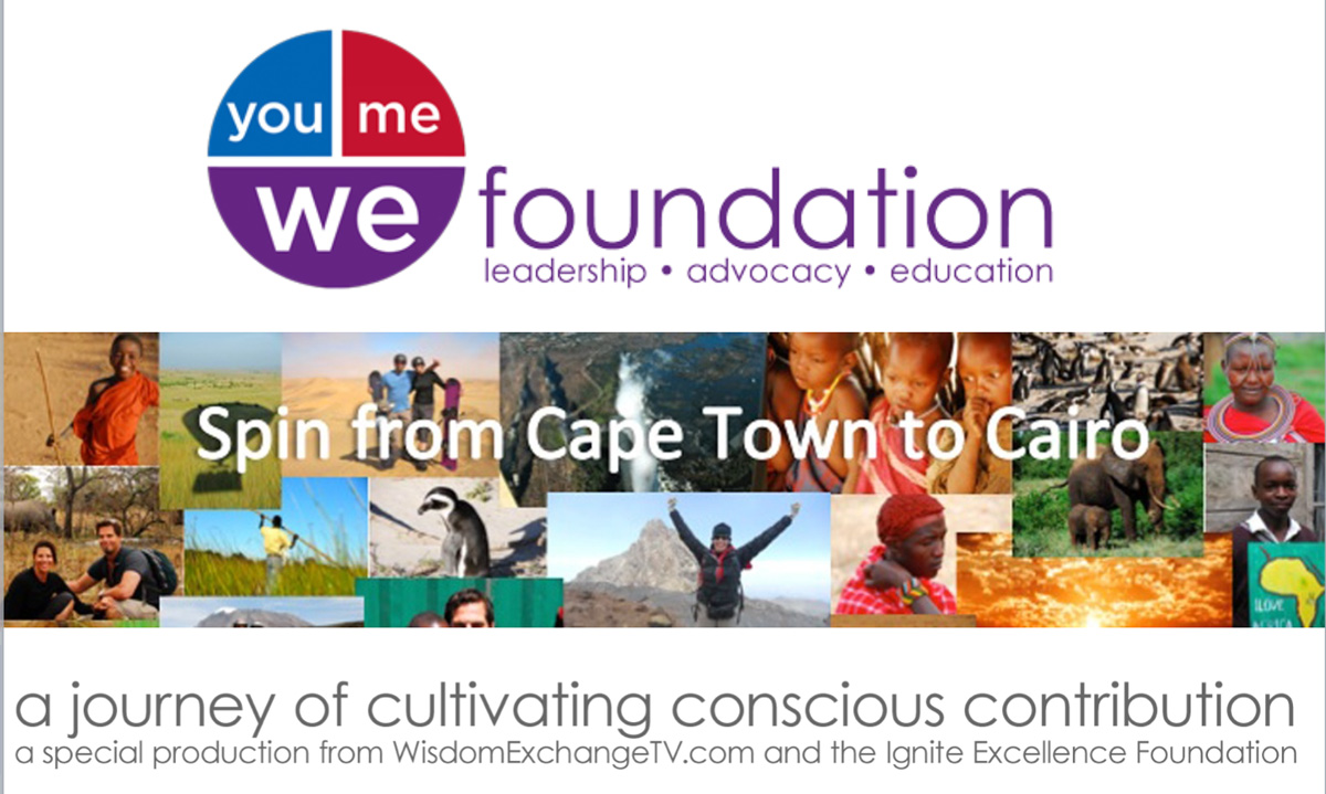 Cape Town to Cairo – Spin for Scholarships